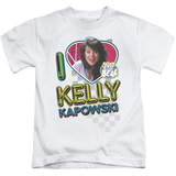Juvenile: Saved By The Bell - I Love Kelly T-shirts
