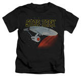 Juvenile: Star Trek - Retro Enterprise T-shirts
