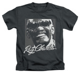 Youth: Ray Charles - Signature Glasses T-shirts