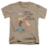 Juvenile: Popeye - Blow Me Down T-Shirt