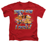 Juvenile: Garfield - How I Roll T-Shirt