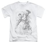 Juvenile: Superman - Pencil City To Space Shirt