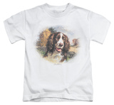 Youth: Wildlife - Springer Spaniel Head T-shirts