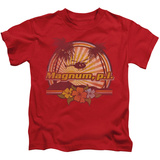 Juvenile: Magnum P.I. - Hawaiian Sunset T-Shirt