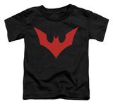 Toddler: Batman Beyond - Beyond Bat Logo T-Shirt