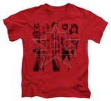 Juvenile: Justice League - Five Stars T-shirts