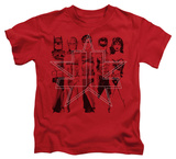 Youth: Justice League - Five Stars T-shirts