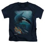 Youth: Wildlife - Salmon Hunter Orca T-shirts