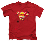 Youth: Superman - Super Mech Shield T-shirts