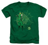 Juvenile: Green Arrow - Arrow Target T-shirts