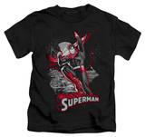 Juvenile: Superman - Superman Red & Gray T-shirts
