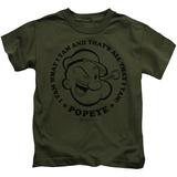 Juvenile: Popeye - I Yam Shirts