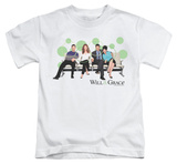 Youth: Will & Grace - Polka Dots T-shirts