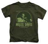 Juvenile: Miles Davis - The Green Miles T-Shirt