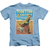 Youth: The Adventures of Tintin - Tintin & Snowy T-Shirt