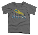 Toddler: Batman - Gotham City Distressed T-shirts