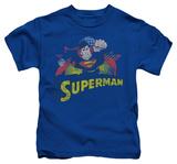 Juvenile: Superman - Superman Rough Distress Shirts