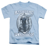 Juvenile: The Three Stooges - Lamebrain Plumbing T-shirts