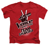 Juvenile: The Voice - Team Shakira Shirts