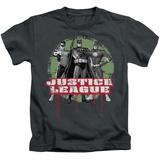 Juvenile: Justice League - JLA Trio Shirts