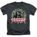 Youth: Justice League - JLA Trio Shirts