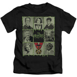 Juvenile: The Munsters - Blocks T-shirts
