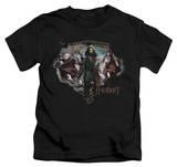 Juvenile: The Hobbit: An Unexpected Journey - Three Dwarves Shirts