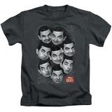 Juvenile: Mr Bean - Heads T-Shirt