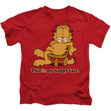 Juvenile: Garfield - Happy Face T-shirts
