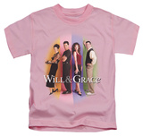 Juvenile: Will & Grace - Will & Grace Cast Shirt