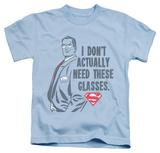 Juvenile: Superman - Don't Need Glasses Shirt