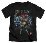 Juvenile: Judge Dredd - Behind You T-shirts