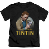 Youth: The Adventures of Tintin - Looking For Answers T-shirts