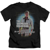 Youth: The Six Million Dollar Man - Technology T-shirts