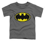 Toddler: Batman - Pixel Symbol T-shirts