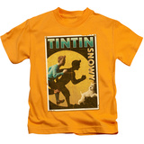 Juvenile: The Adventures of Tintin - Tintin & Snowy Flyer T-shirts