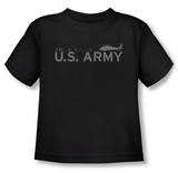 Toddler: Army - Helicopter T-Shirt