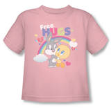 Toddler: Baby Looney Tunes -  Free Hugs T-Shirt