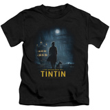 Juvenile: The Adventures of Tintin - Title Poster T-Shirt
