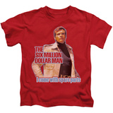 Juvenile: The Six Million Dollar Man - Spare Parts T-Shirt