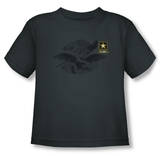 Toddler: Army - Left Chest T-Shirt