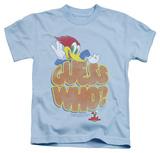 Juvenile: Woody Woodpecker - Guess Who T-shirts