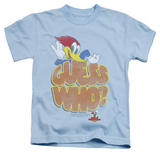 Youth: Woody Woodpecker - Guess Who T-shirts