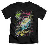 Juvenile: Wonder Woman - Color Block T-shirts
