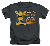 Youth: Garfield - Smiling T-shirts