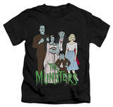 Juvenile: The Munsters - The Family T-shirts