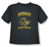 Toddler: Army - Hooah T-shirts