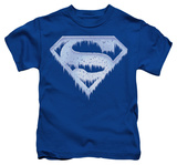 Juvenile: Superman - Ice And Snow Shield T-Shirt