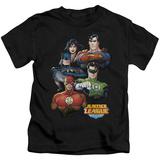 Juvenile: Justice League - Group Portrait T-shirts