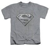 Juvenile: Superman - Riveted Metal T-shirts